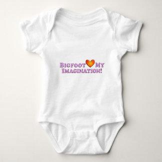 Bigfoot Loves My Imagination - Basic Baby Bodysuit