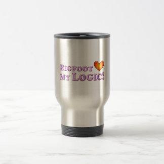 Bigfoot Loves My Logic - Basic Travel Mug