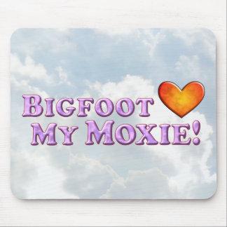 Bigfoot Loves My Moxie - Basic Mouse Pad