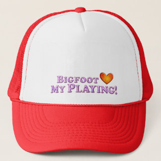 Bigfoot Loves My Playing - Basic Trucker Hat