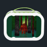 """bigfoot lunch box<br><div class=""""desc"""">Bigfoot ,  Sasquatch ,  Squatch ,  Wild man ,  Hairy man ,  Swamp Ape ,  Swamp Monster whatever you call them they are just out your backdoor in the creeks ,  swamps and rivers.</div>"""