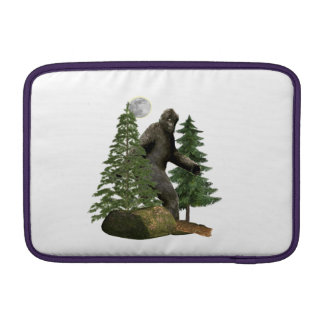 Bigfoot merchandise MacBook sleeves