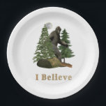 "Bigfoot merchandise paper plate<br><div class=""desc"">Bigfoot merchandise</div>"