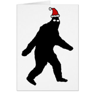 Bigfoot Merry Squatchmas! Card