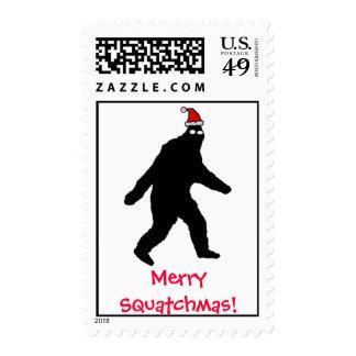 Bigfoot Merry Squatchmas! Stamps