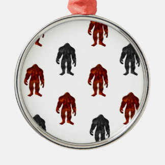 Bigfoot Metal Ornament