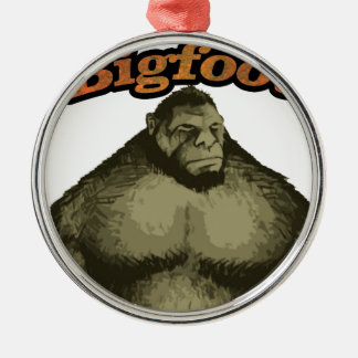 Bigfoot Metal Ornament