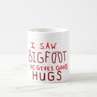 bigfoot classic white coffee mug