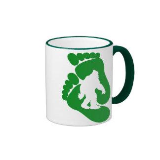 Bigfoot Ringer Coffee Mug