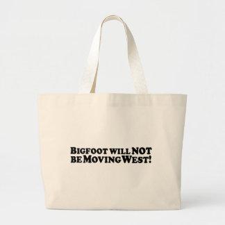 Bigfoot no estará oeste móvil - básico bolsa de mano