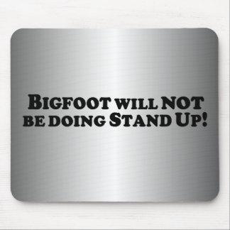 Bigfoot no hará se levanta - básico tapete de raton
