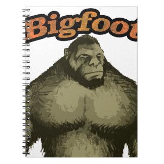 Bigfoot Spiral Note Book
