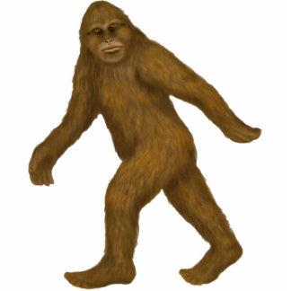 Bigfoot on the Move Ornament Photo Cutouts