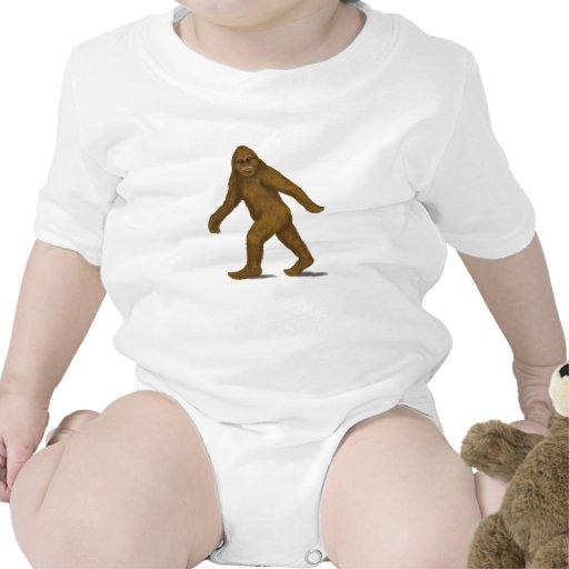 Bigfoot para la enredadera del bebé trajes de bebé