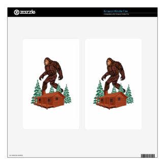Bigfoot Paradise Kindle Fire Skins