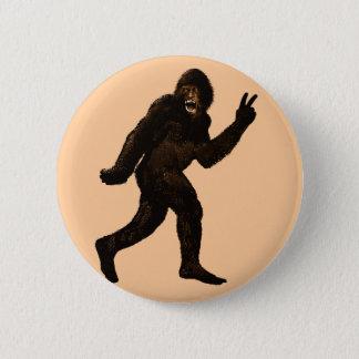 Bigfoot Peace Button