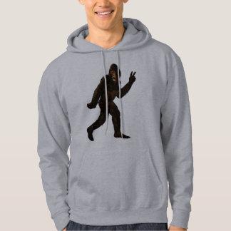 Bigfoot Peace Sign Hoodie