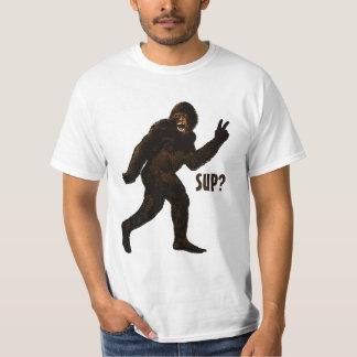 Bigfoot Peace  Sup? T Shirt