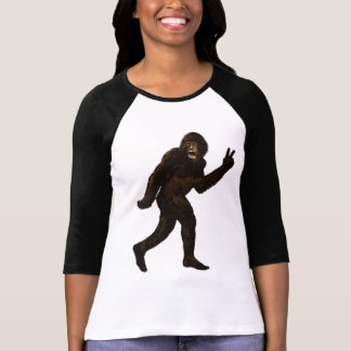 Bigfoot Peace T Shirts