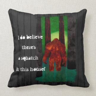 Bigfoot Pillow