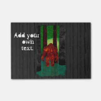 Bigfoot Post-it Notes