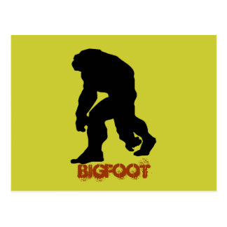 Bigfoot Postales
