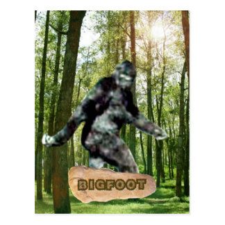 Bigfoot Postcards