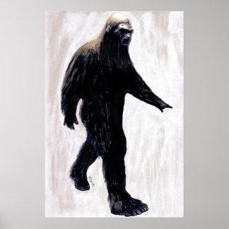 Bigfoot Poster