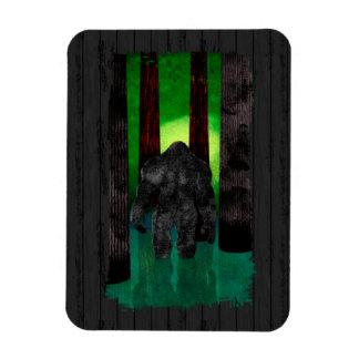 Bigfoot Rectangular Photo Magnet