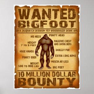 Bigfoot quiso el poster 10 millones de generosidad