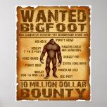 Bigfoot quiso el poster 10 millones de generosidad póster
