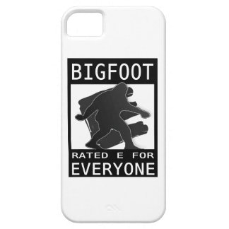 Bigfoot Rated 'E' For Everyone iPhone 5 Covers