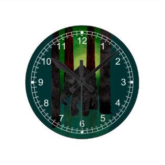 Bigfoot Reloj De Pared