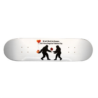 Bigfoot Remembers Valentine's Day Skateboard Deck