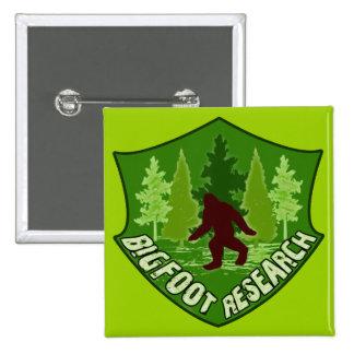 Bigfoot Research Pinback Button