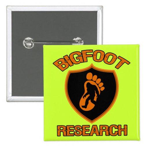 Bigfoot Research Button