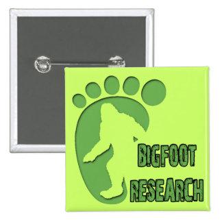 Bigfoot Research Pinback Buttons