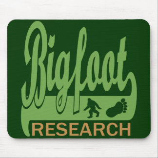 Bigfoot Research Mouse Pad