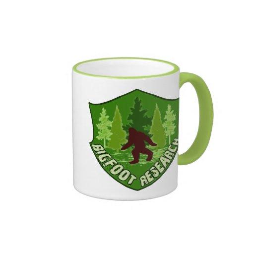 Bigfoot Research Ringer Mug