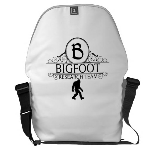 Bigfoot Research Team Courier Bags