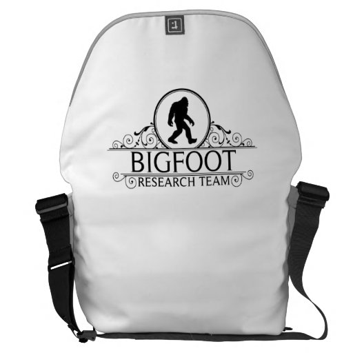 Bigfoot Research Team Courier Bag