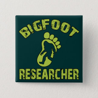 Bigfoot Researcher Button