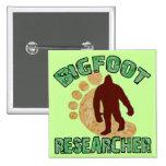 Bigfoot Researcher Buttons