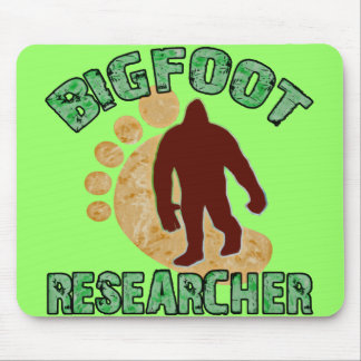 Bigfoot Researcher Mouse Pad