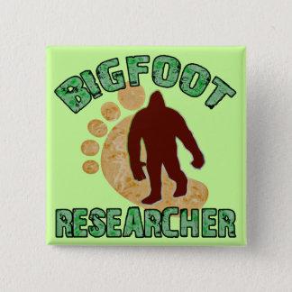 Bigfoot Researcher Pinback Button