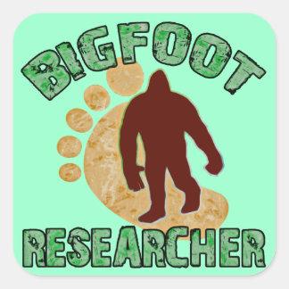 Bigfoot Researcher Square Sticker