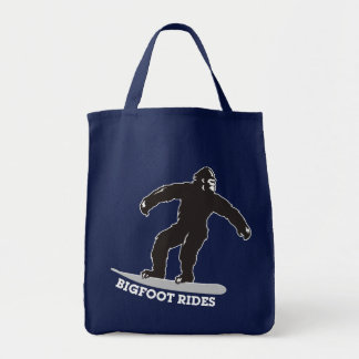 Bigfoot Rides Canvas Bags