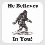 Bigfoot/Sasquatch - él cree en usted