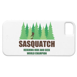 Bigfoot Sasquatch Hide and Seek World Champion iPhone 5 Covers