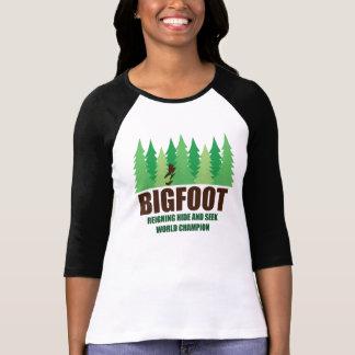 Bigfoot Sasquatch Hide and Seek World Champion Shirt